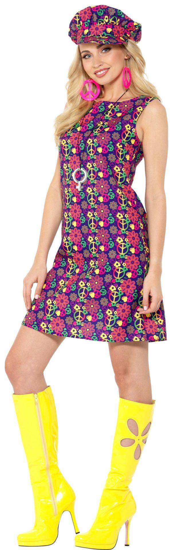 hippie jurkje met pet