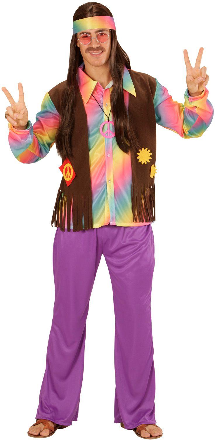 Hippie kostuum mannen