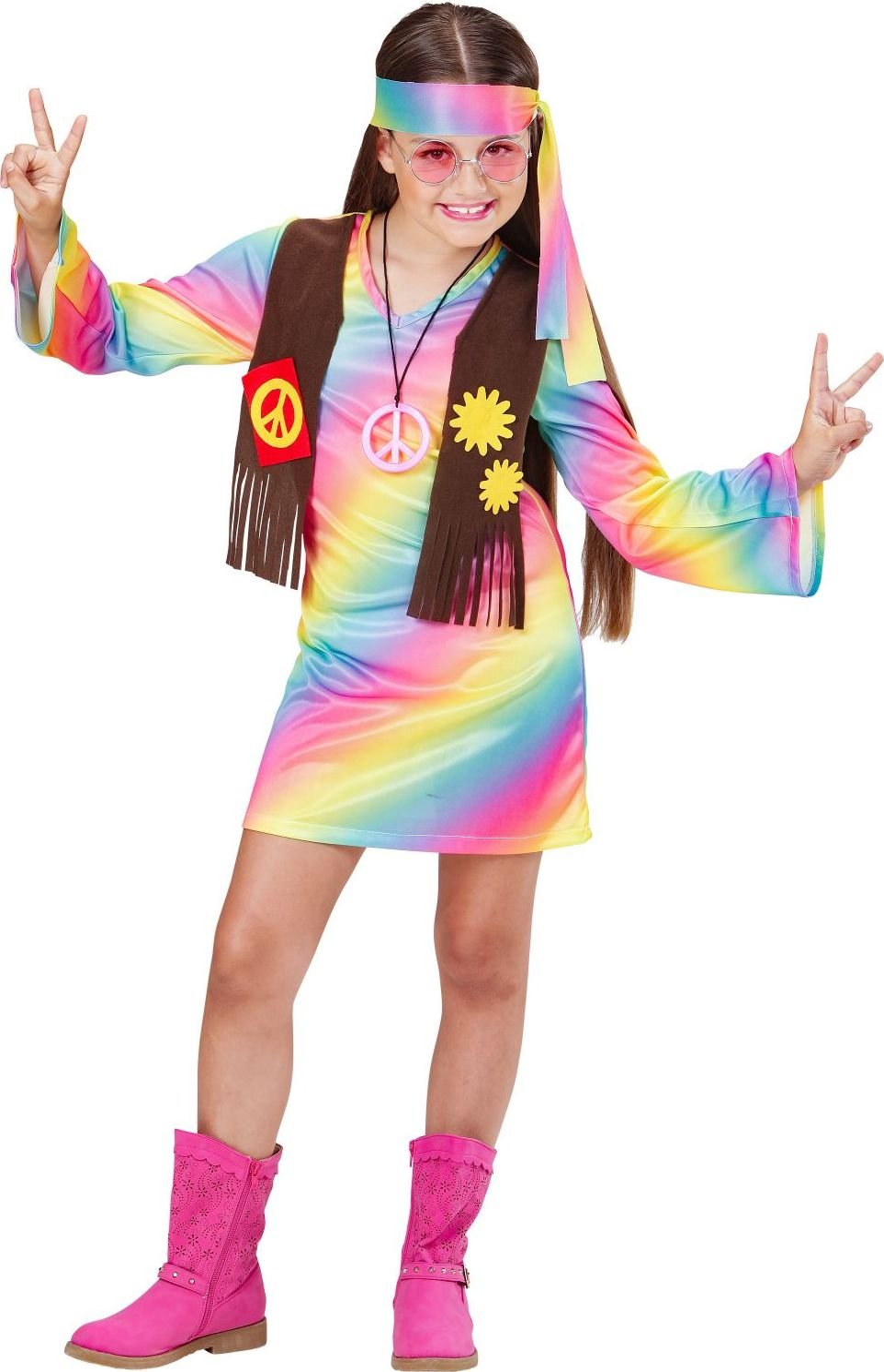 Hippie kostuum meisjes