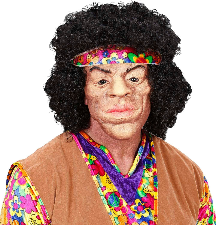 Hippie masker met haar