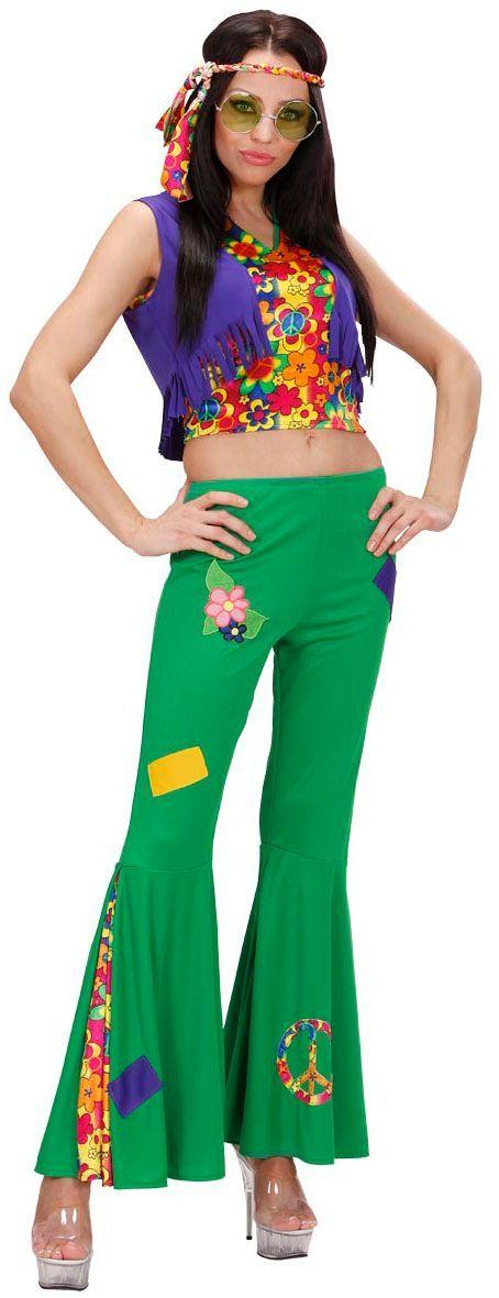 Hippie Meisje Flowerpower