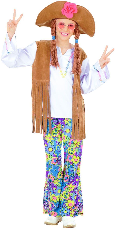 Hippie Meisje Woodstok