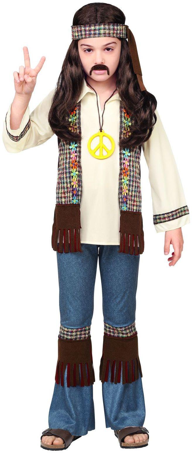Hippie outfit 60s jongens