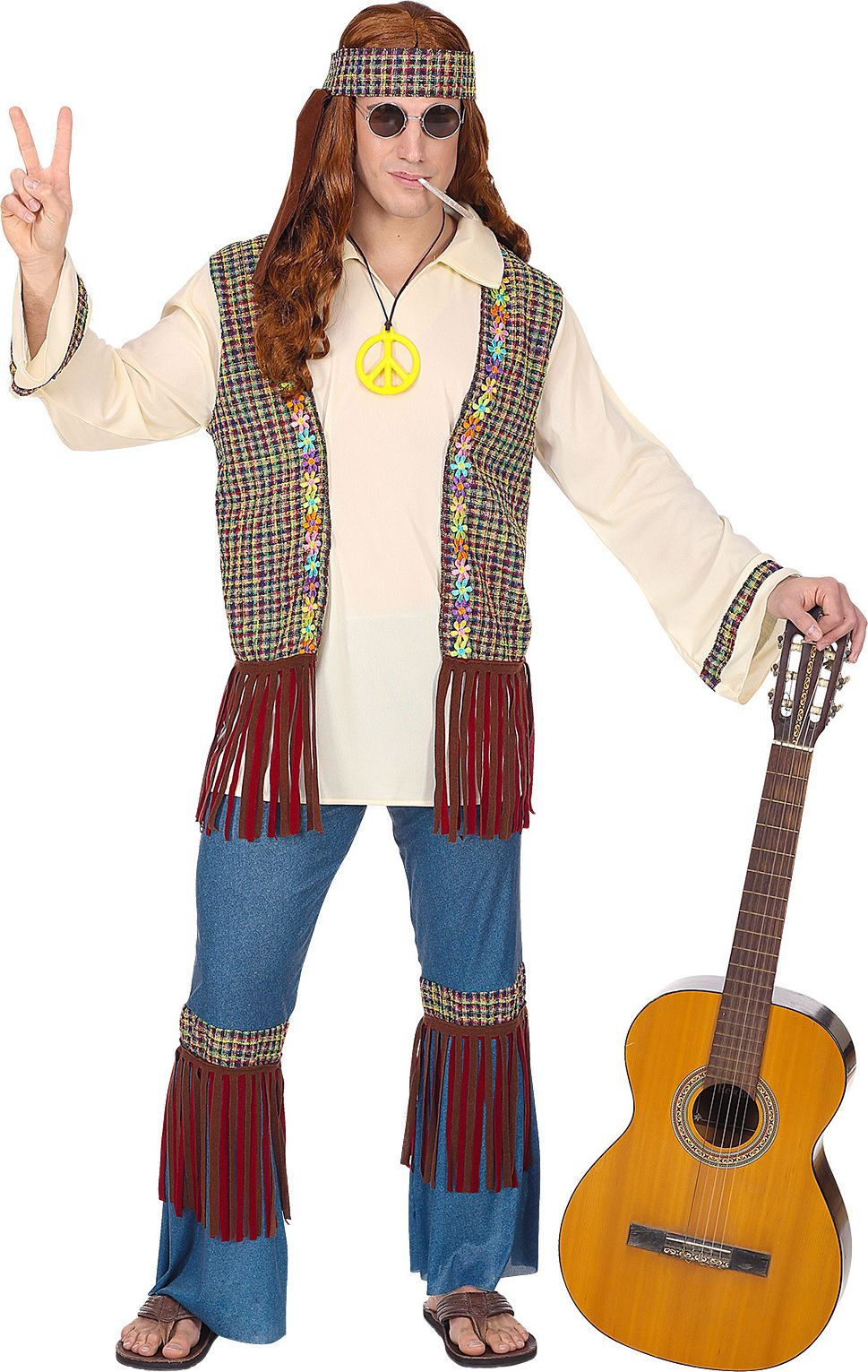Hippie outfit 60s man