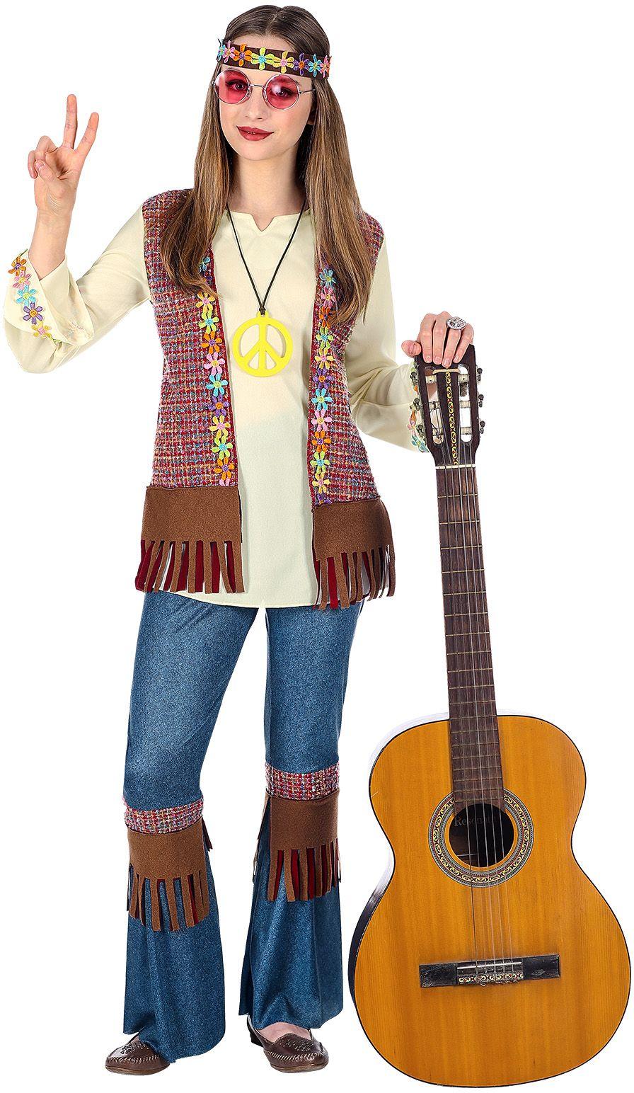 Hippie outfit 60s meisje
