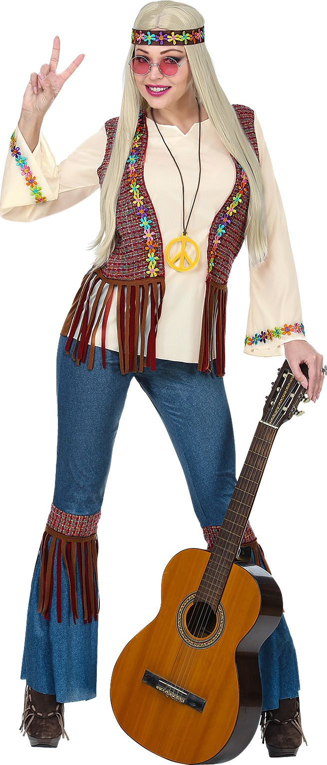 Hippie outfit 60s vrouw