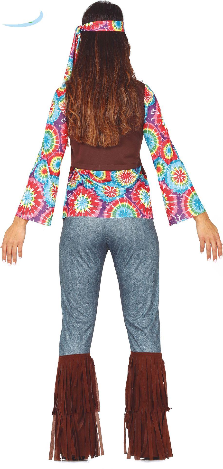 Hippie outfit met sliertjes