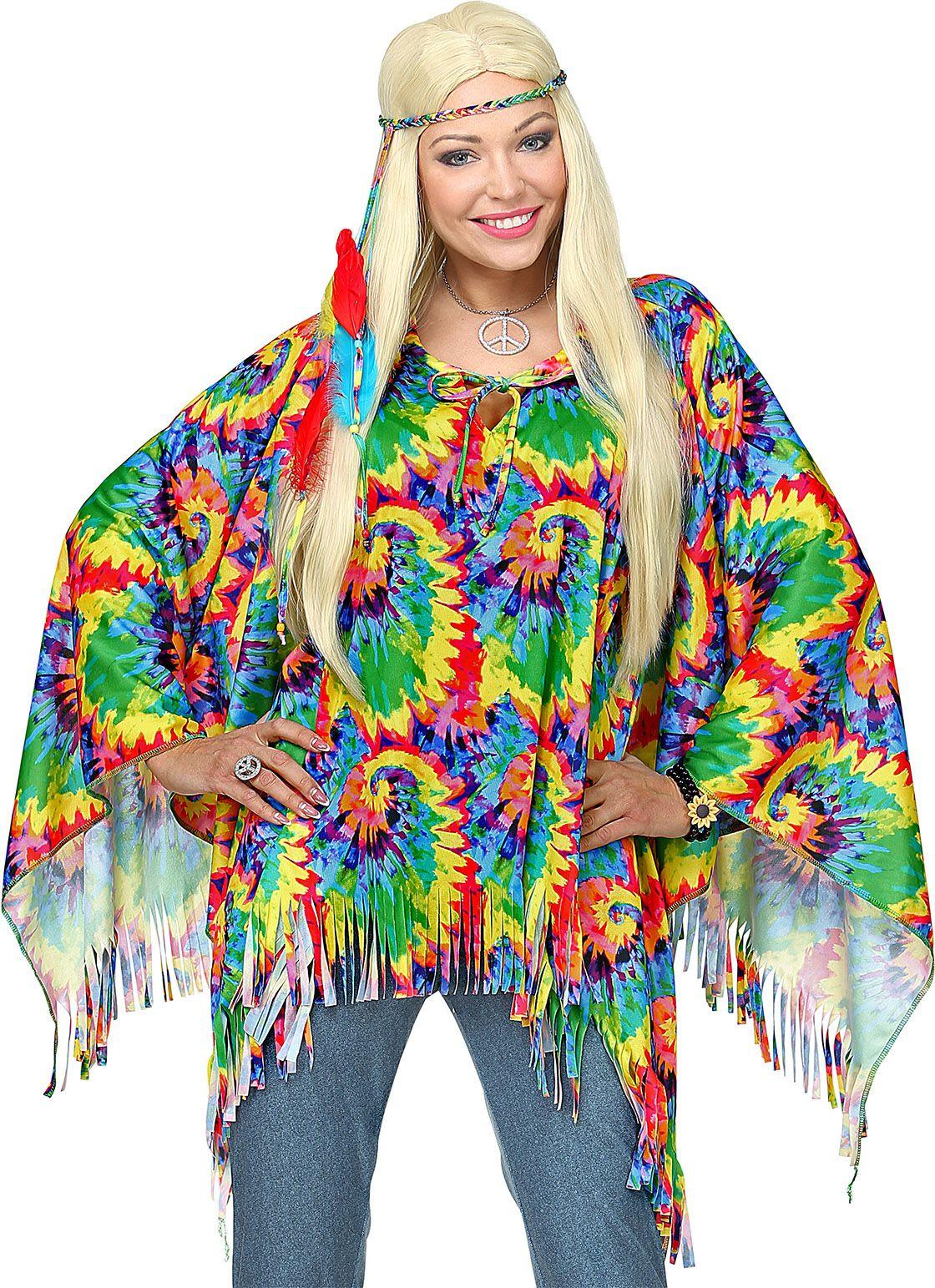 Hippie poncho dames