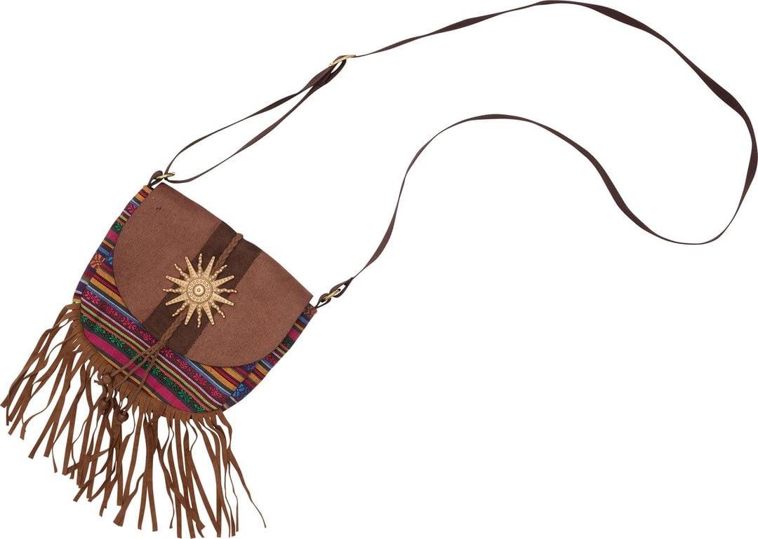 Hippie tas met franjes