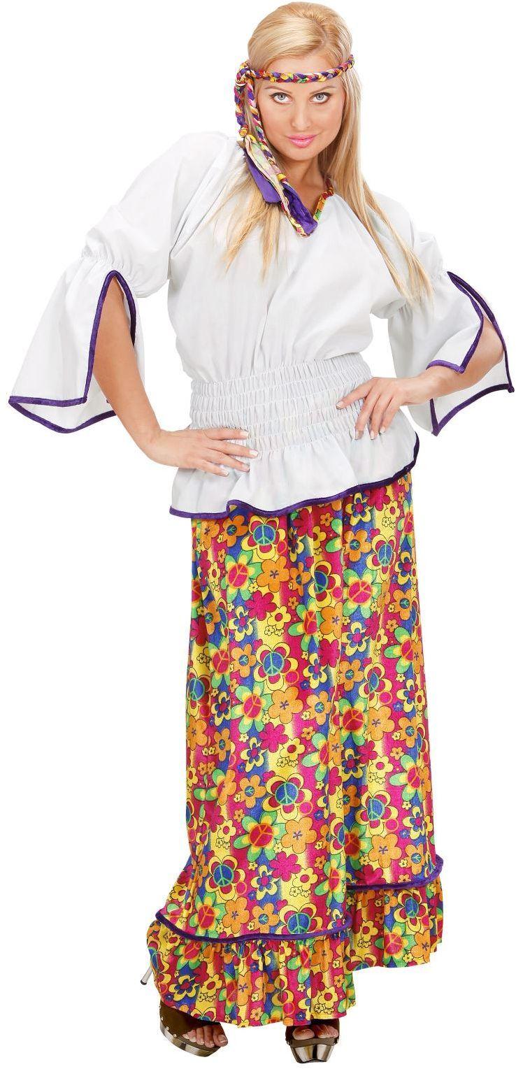 Hippie Vrouw fluweel