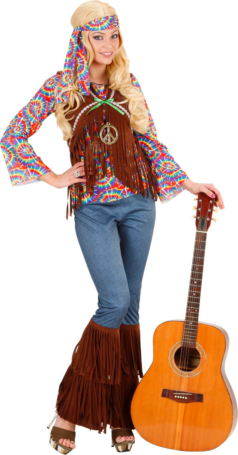 Hippie Vrouw Psychedelisch