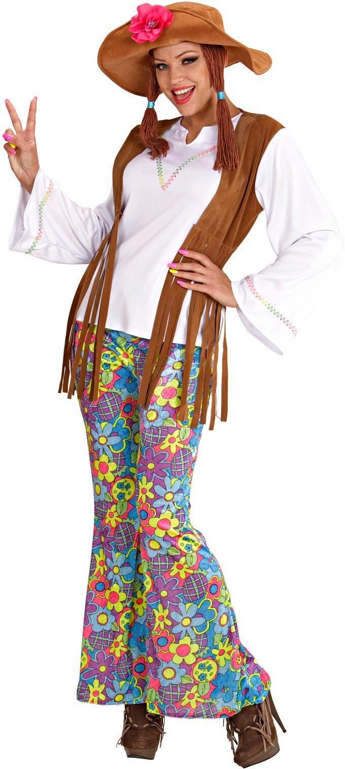 Hippie Vrouw Woodstock