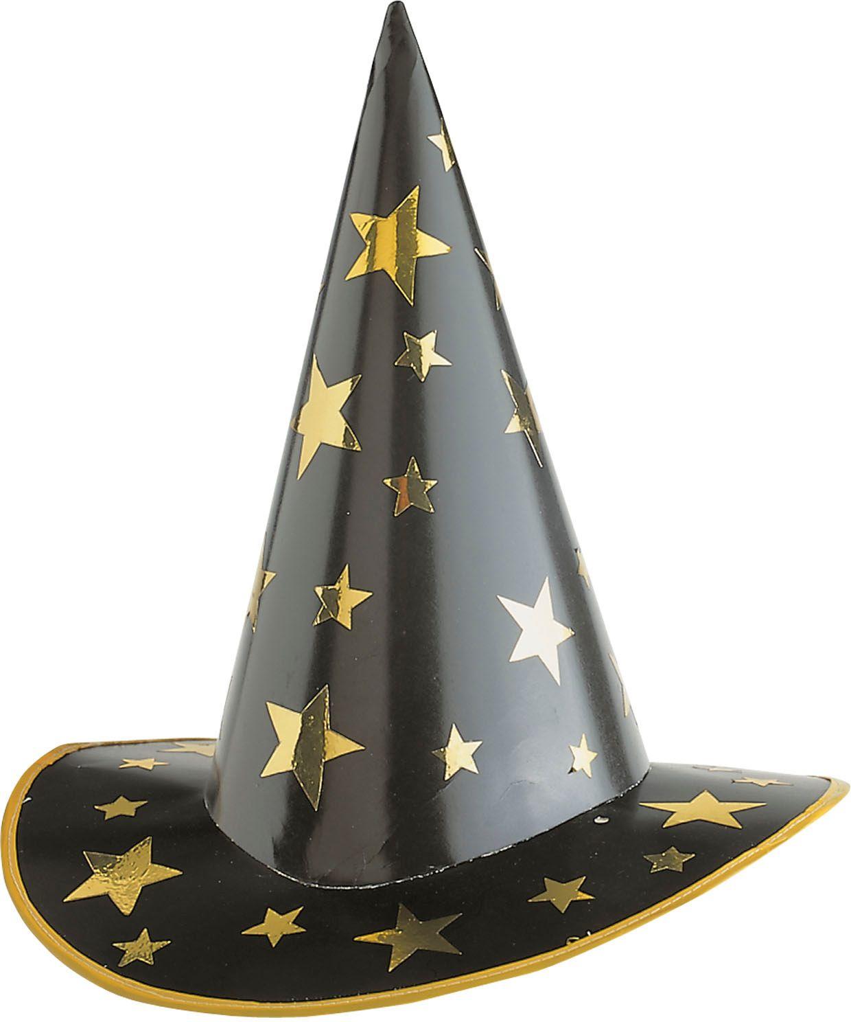 Hoge heks hoed karton