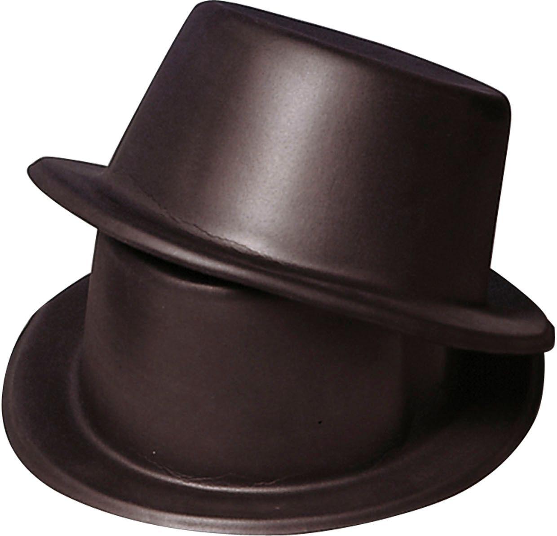 Hoge vinyl hoed
