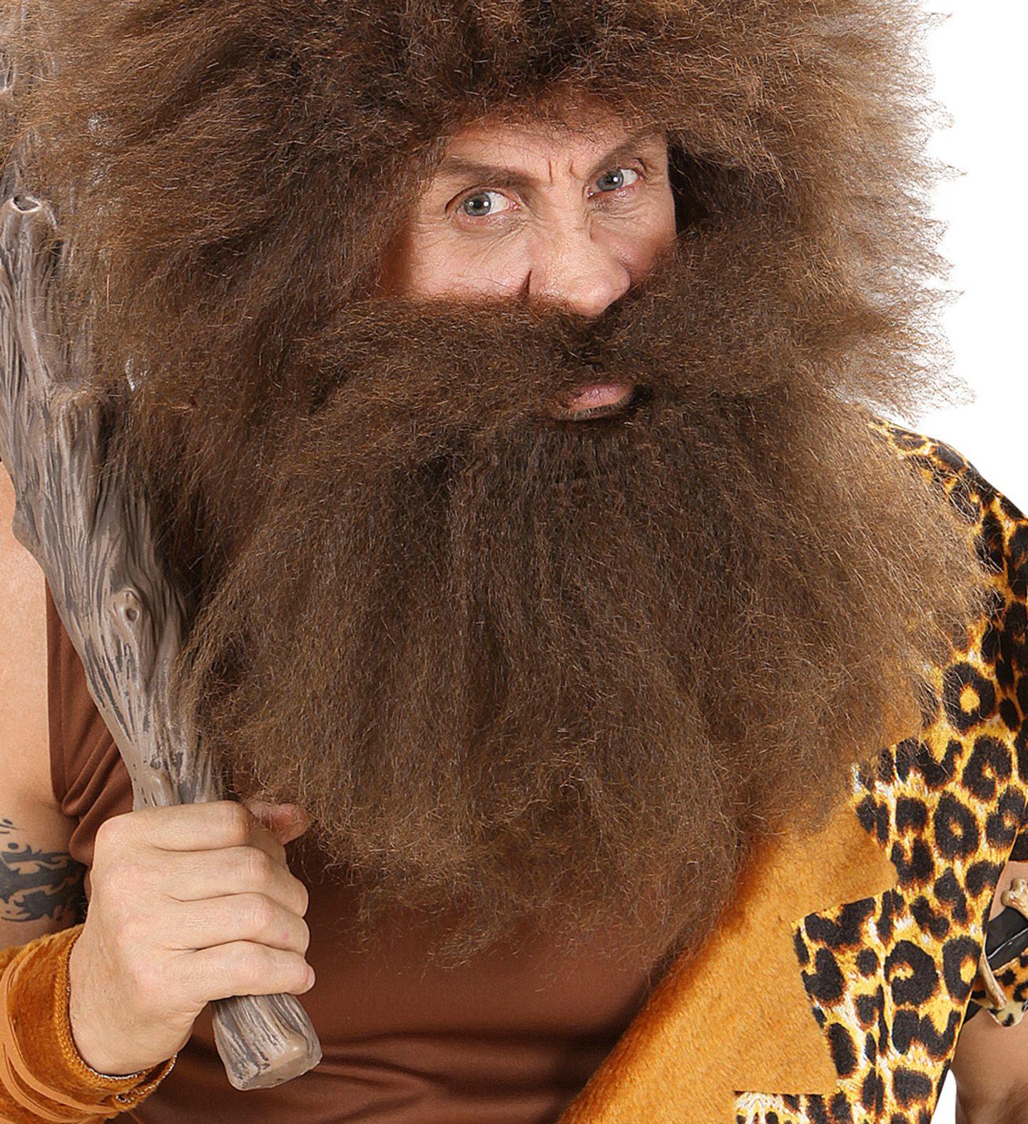 Holbewoner baard