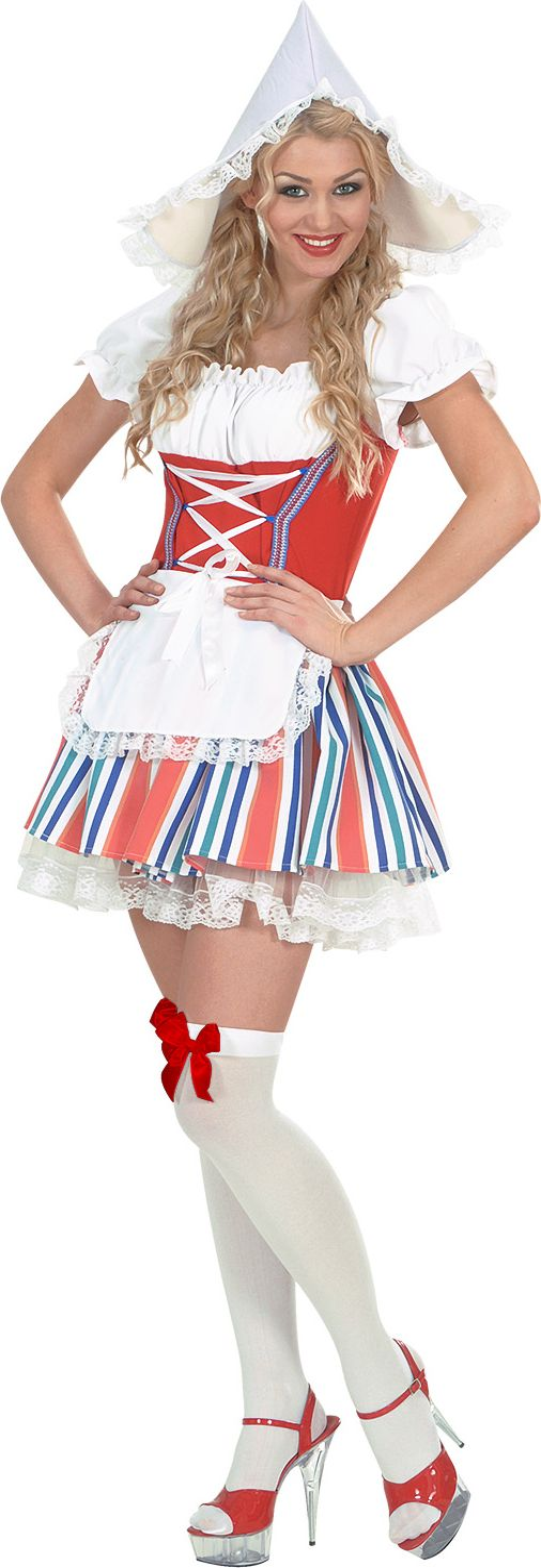 Hollandse meid kostuum