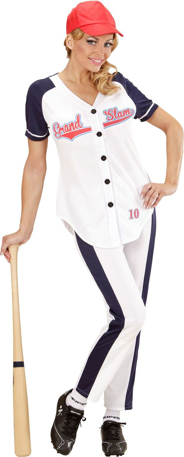Honkbal dames kostuum