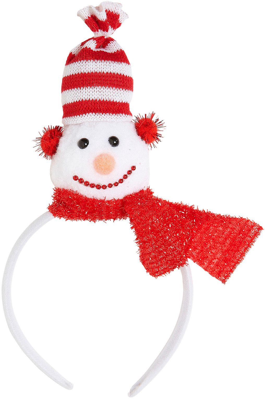 Hoofdband met sneeuwpop