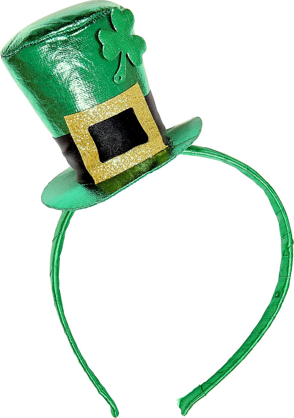 Hoofdband met St. Patricksday mini hoedje