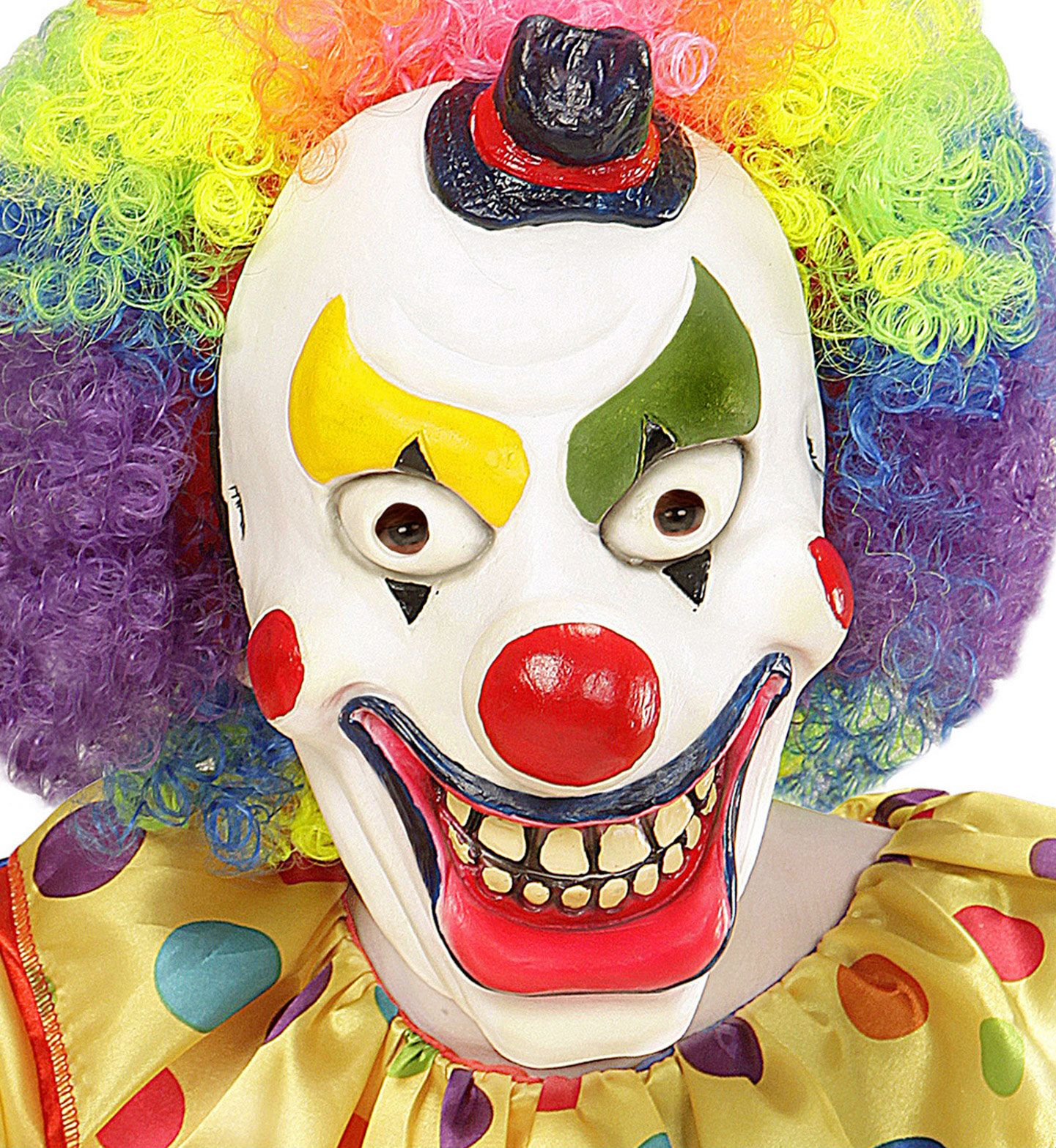 Horror clown masker kind