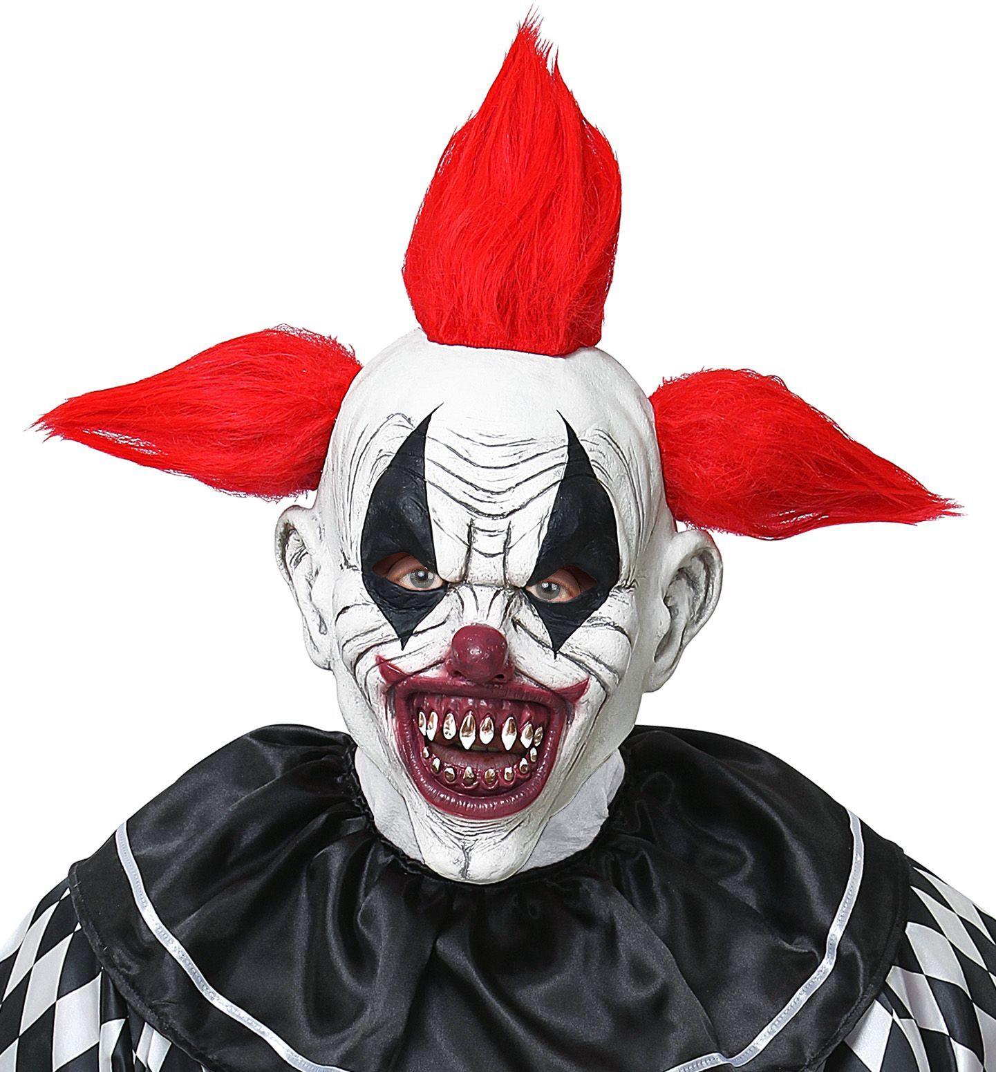 Horror clown masker mannen