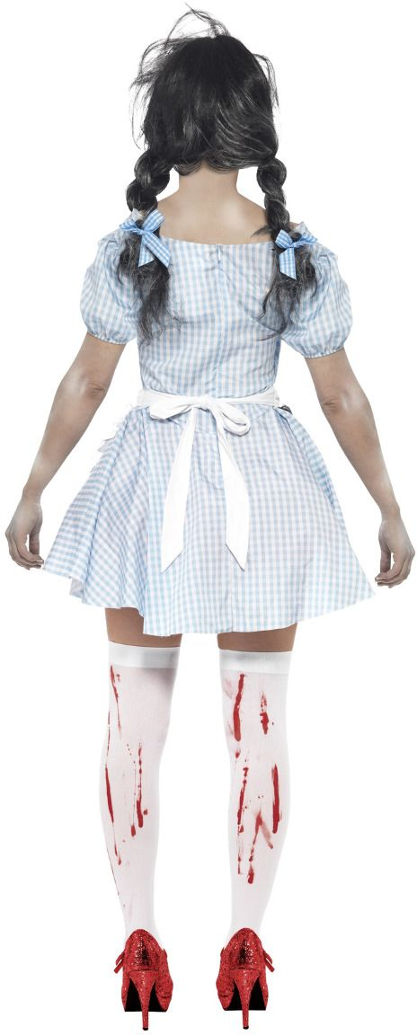Horror zombie Alice in Wonderland outfit