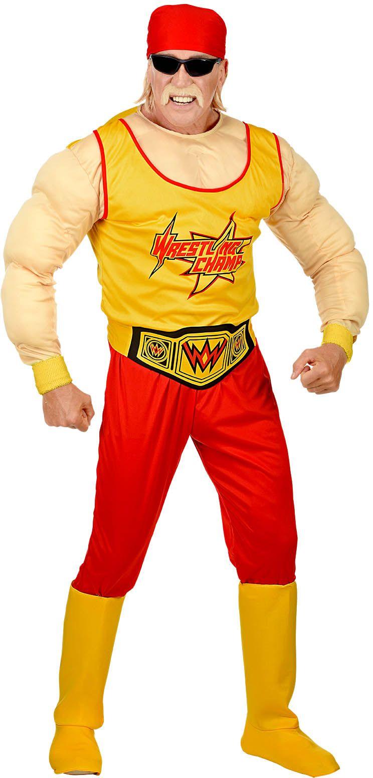 Hulk Hogan worstelaar kostuum