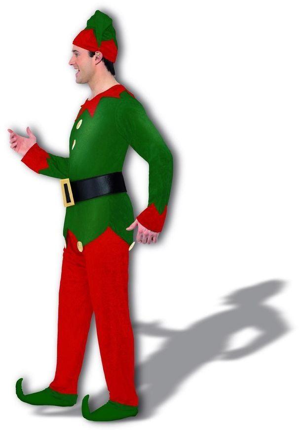 Hulp van de kerstman kostuum