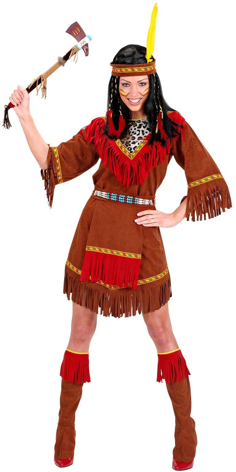 Indiaanse Jurk dame