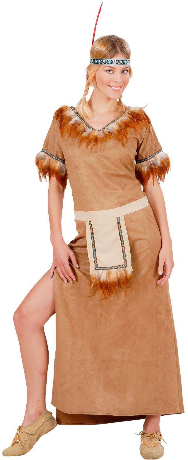 Indiaanse Kostuum, dame