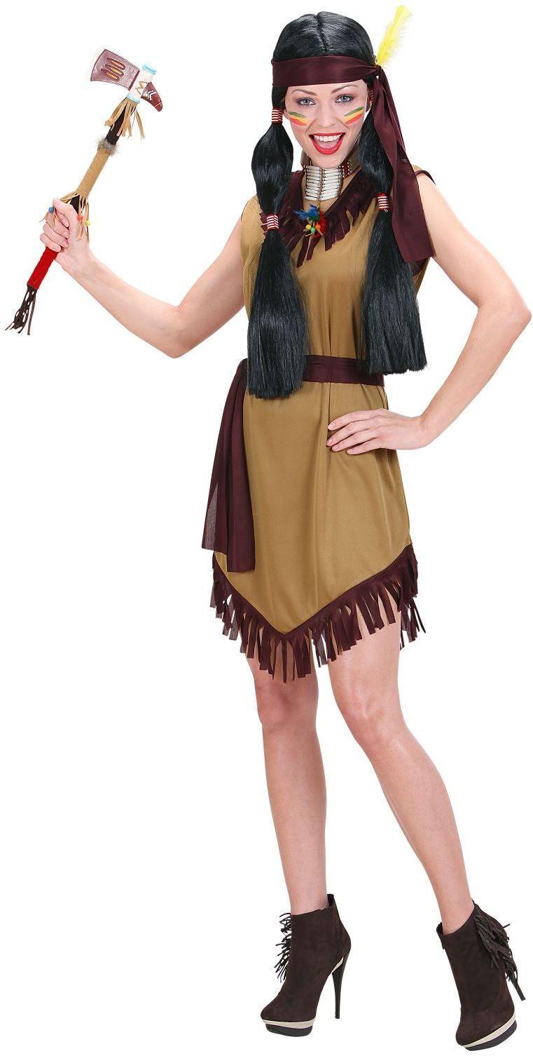 Indiaanse Vrouw Kostuum