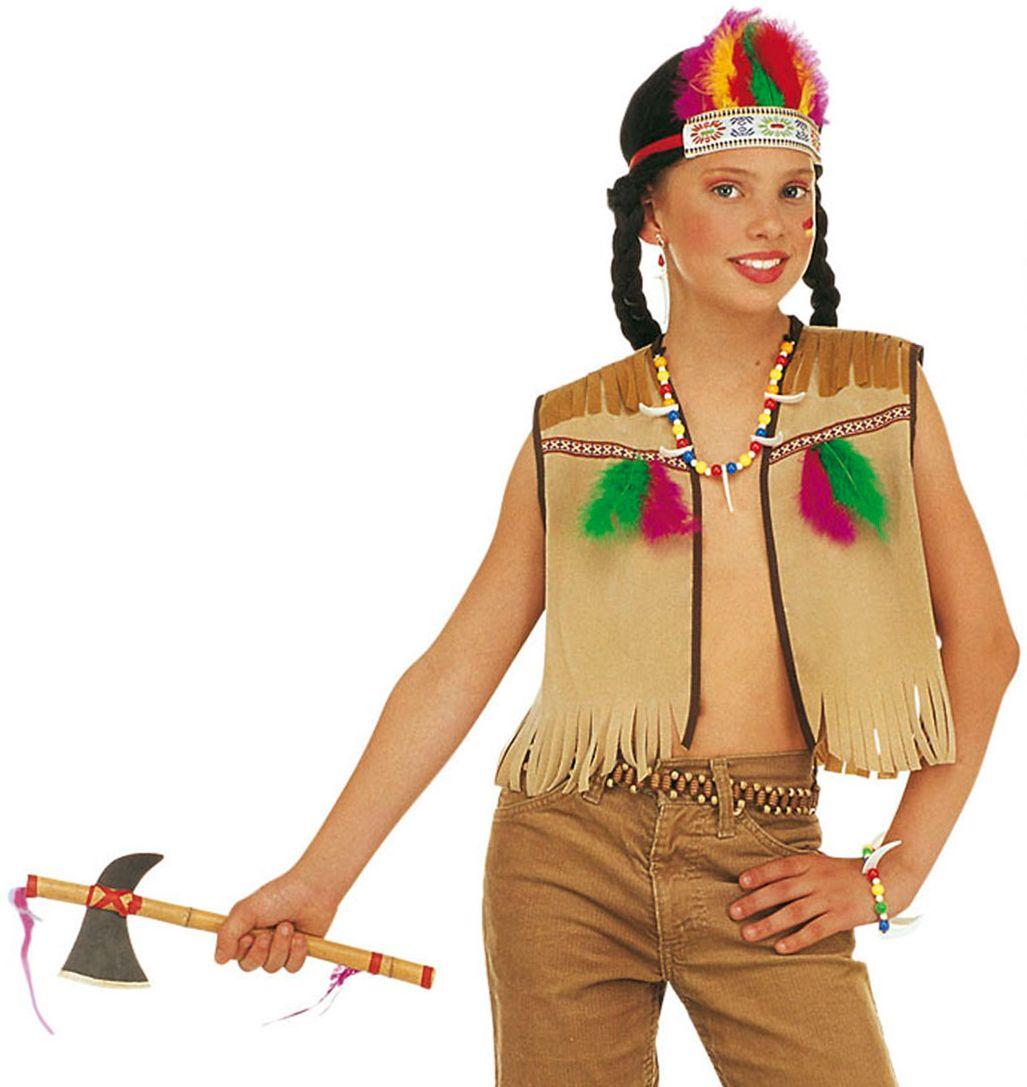 Indianen accessoires set