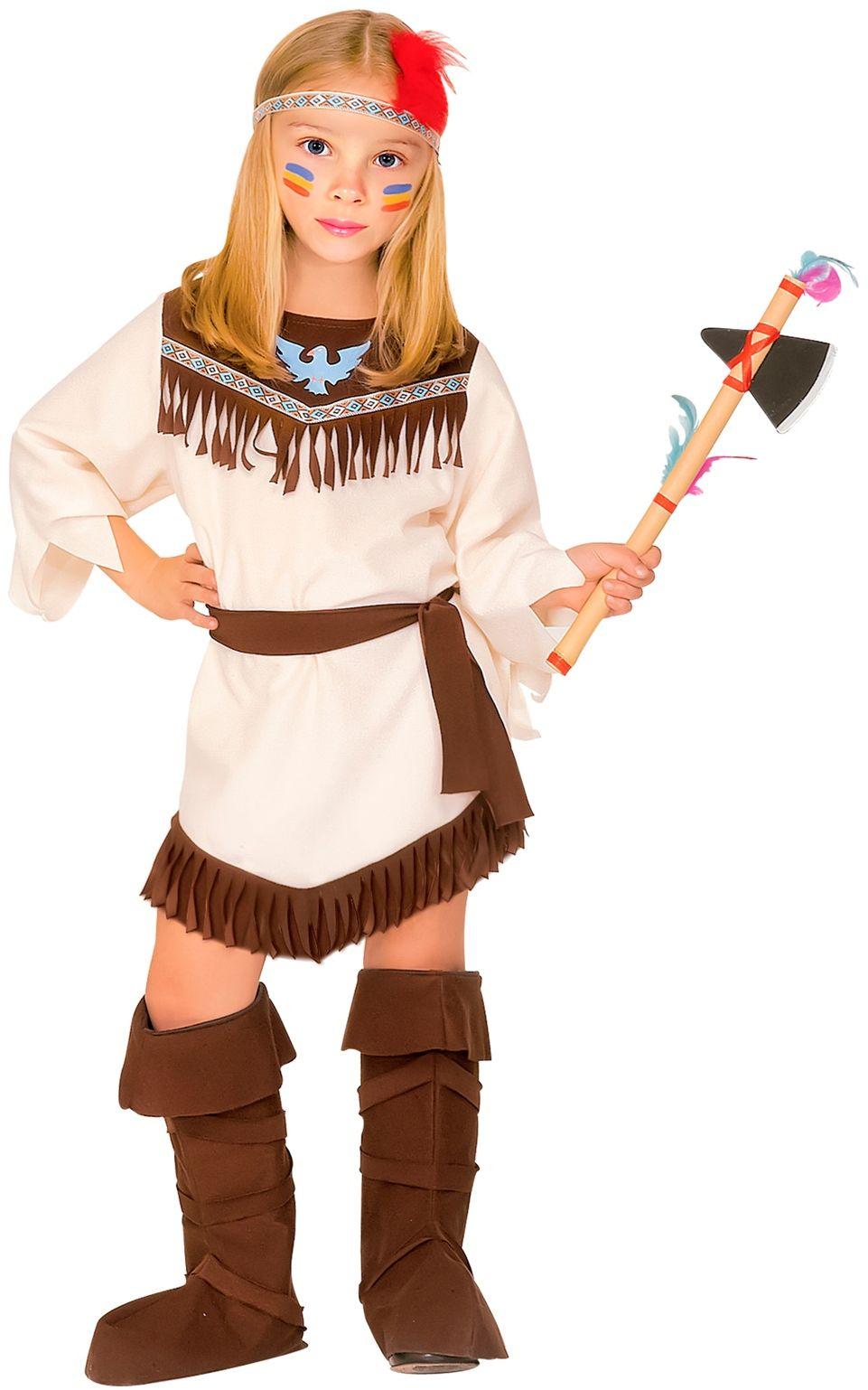 Indianen meisjes jurk