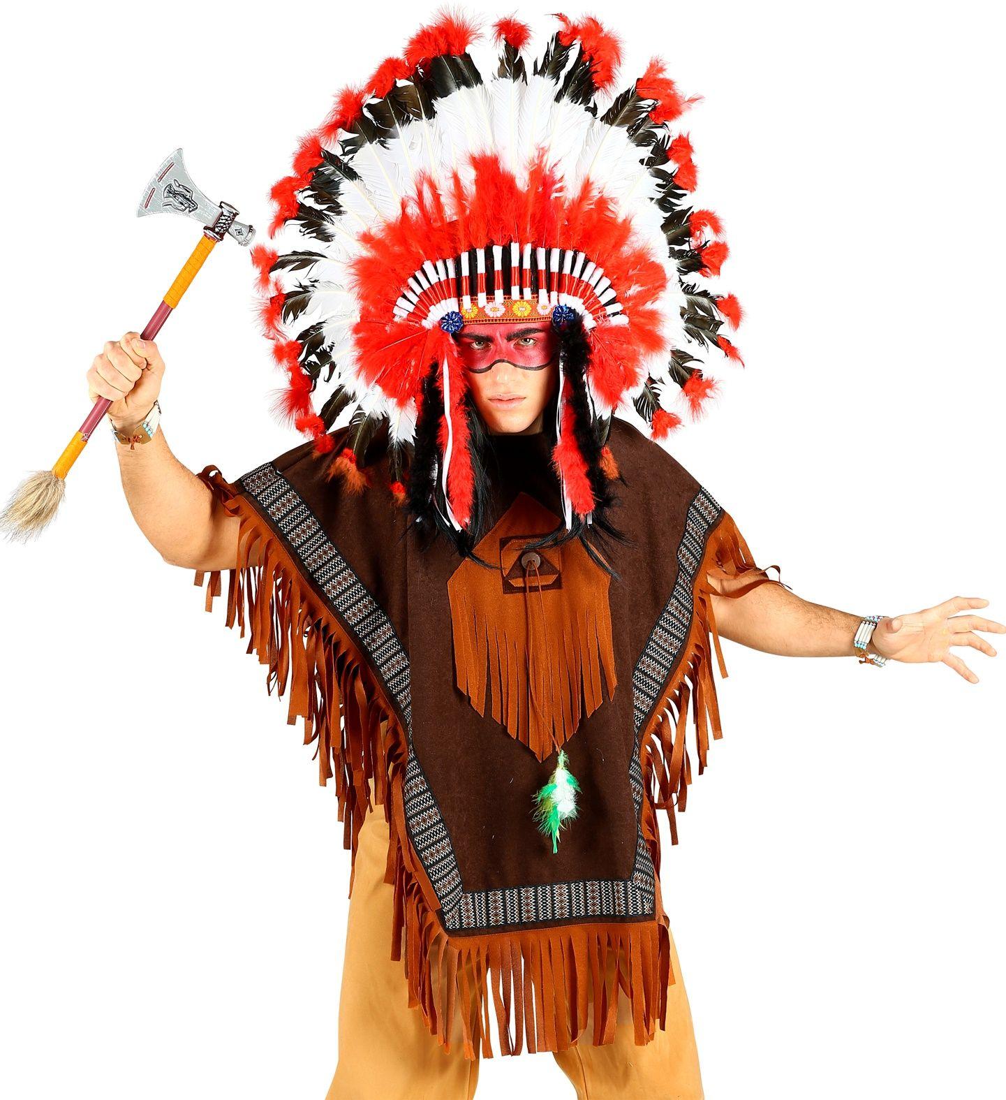 Indianen poncho