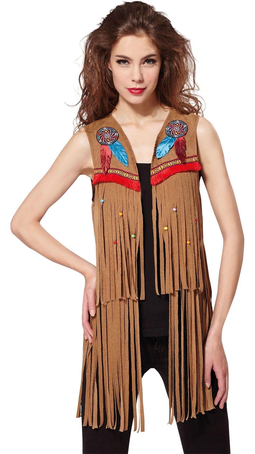 Indianen vest dames