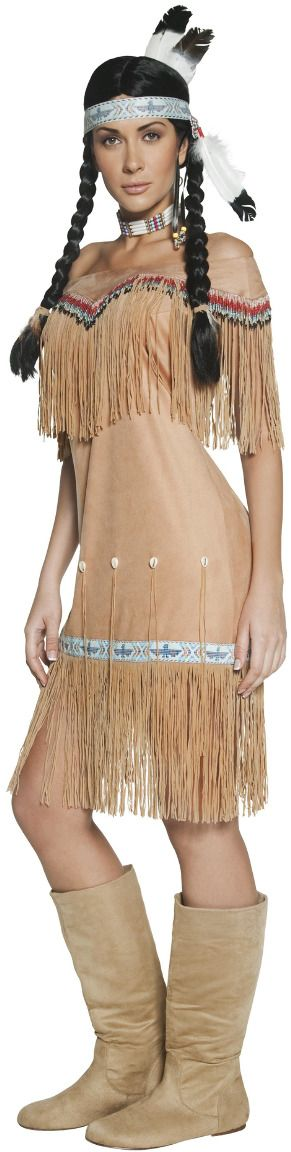 Indianen vrouwen outfit