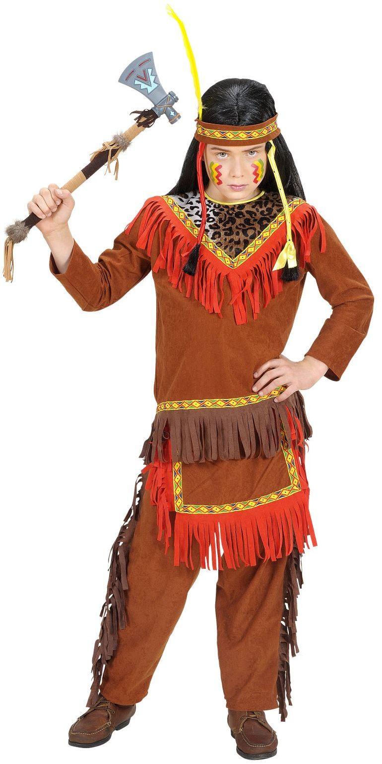 Indianenjongen kostuum