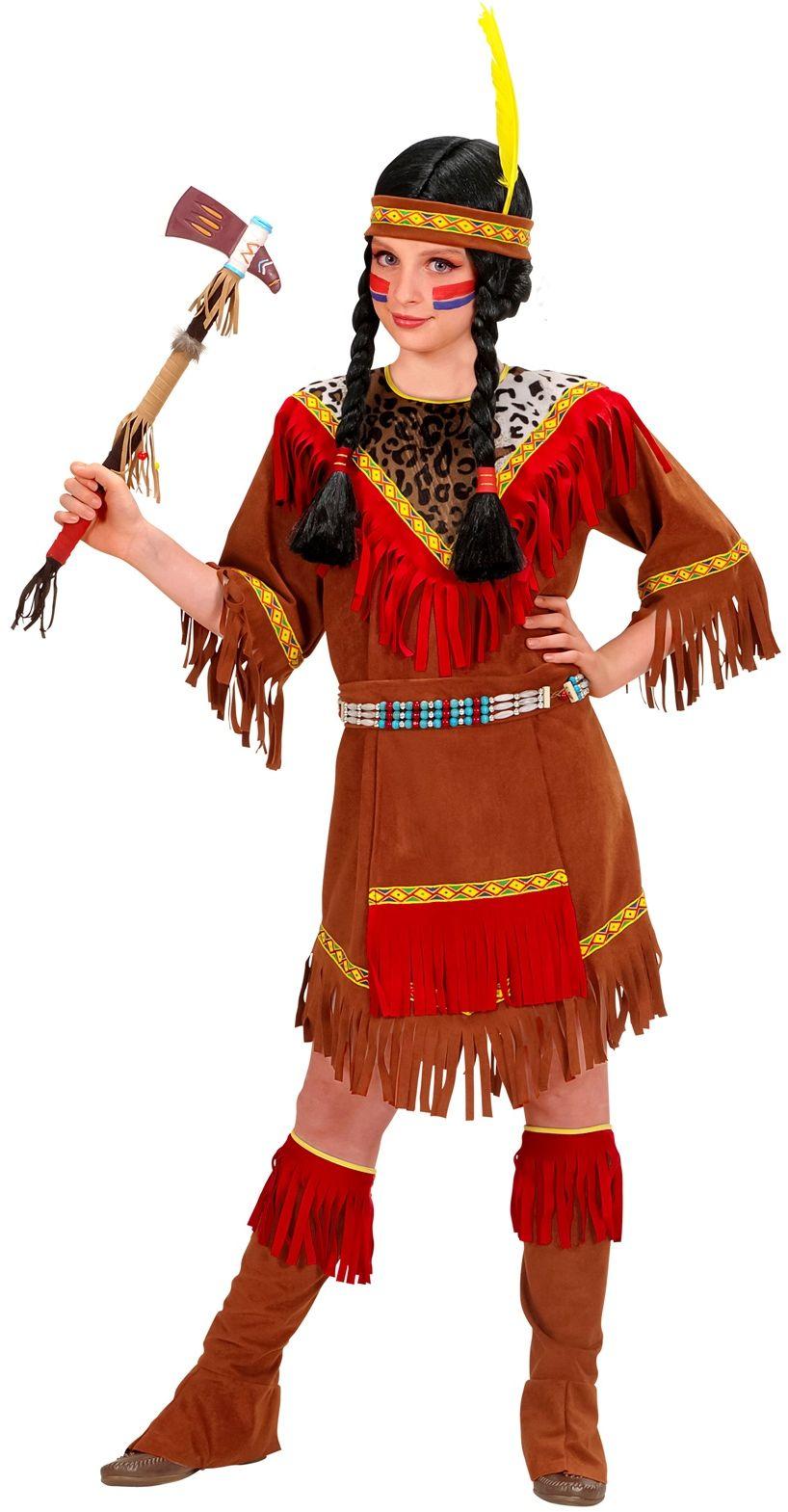 Indianenmeisje Kostuum