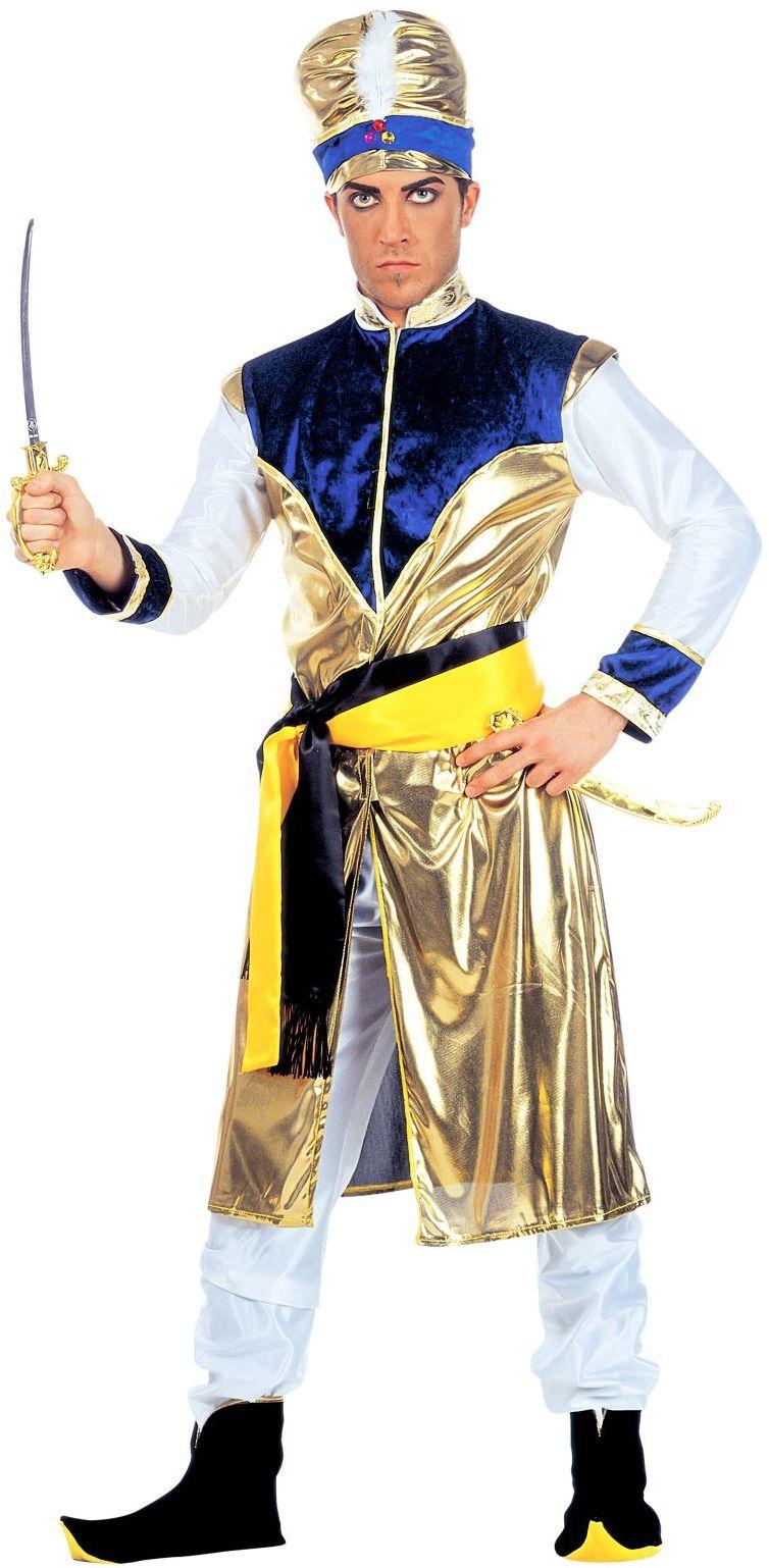 Indiase Maharadja heer kostuum