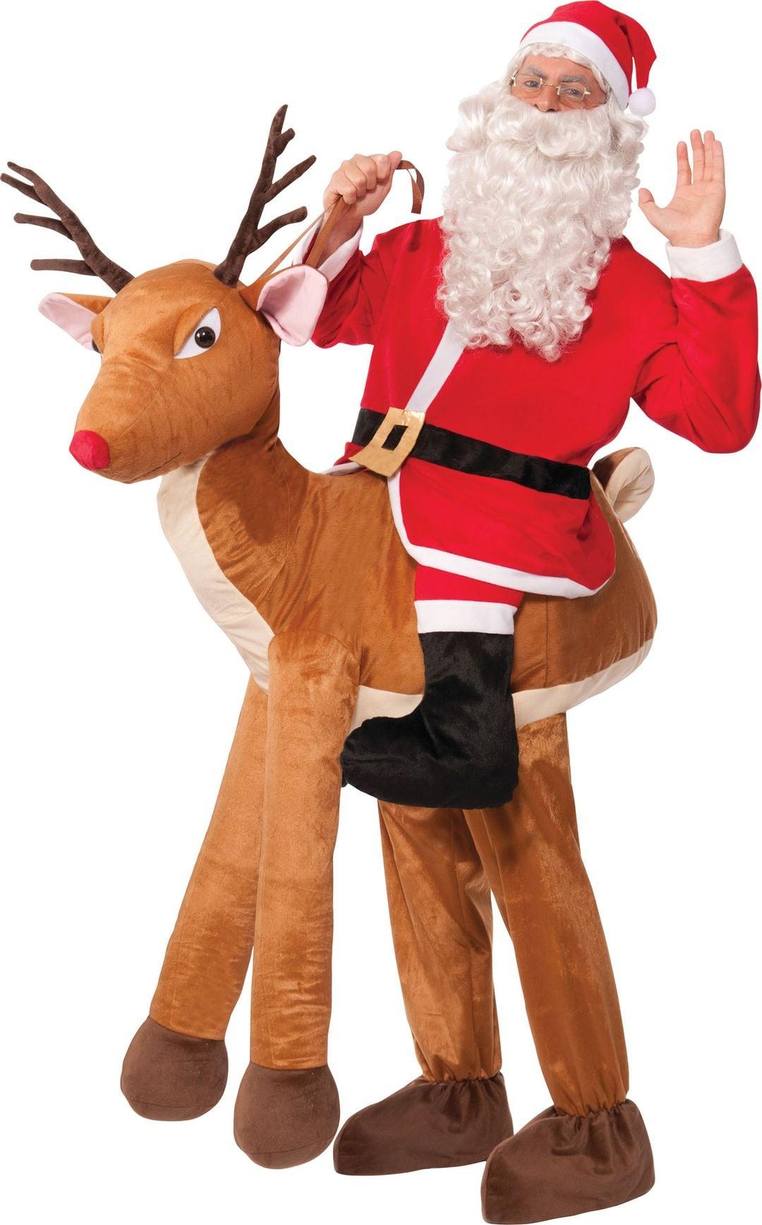 Instap kerstman kostuum