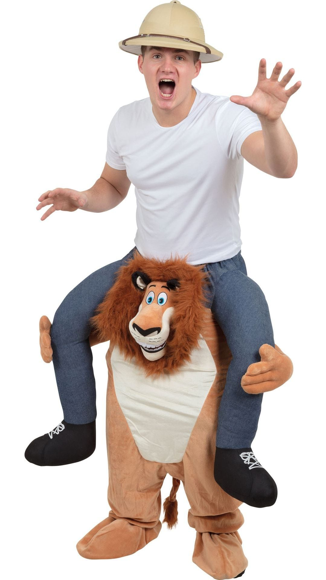 Instap leeuwen kostuum