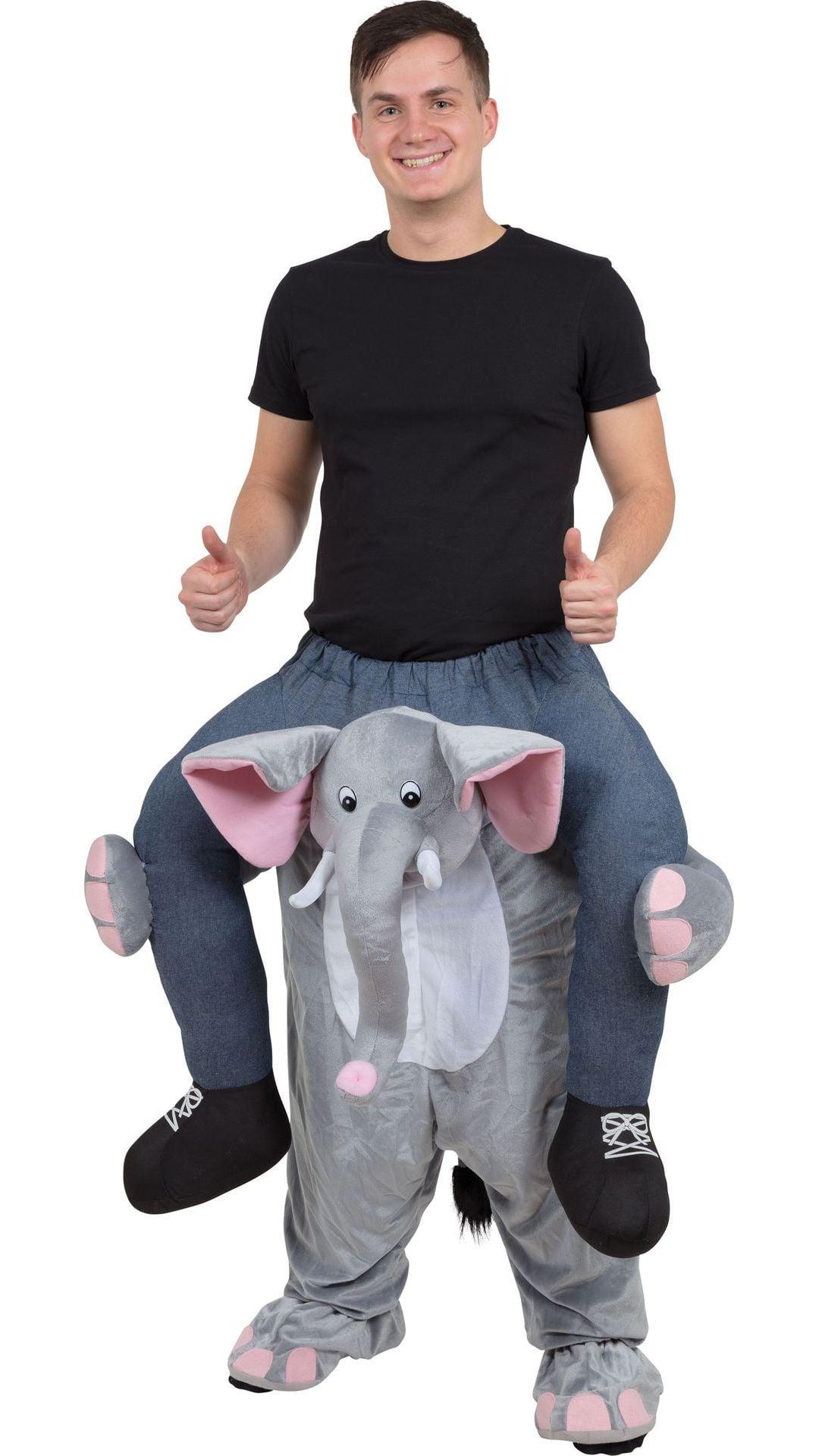 Instap olifant kostuum
