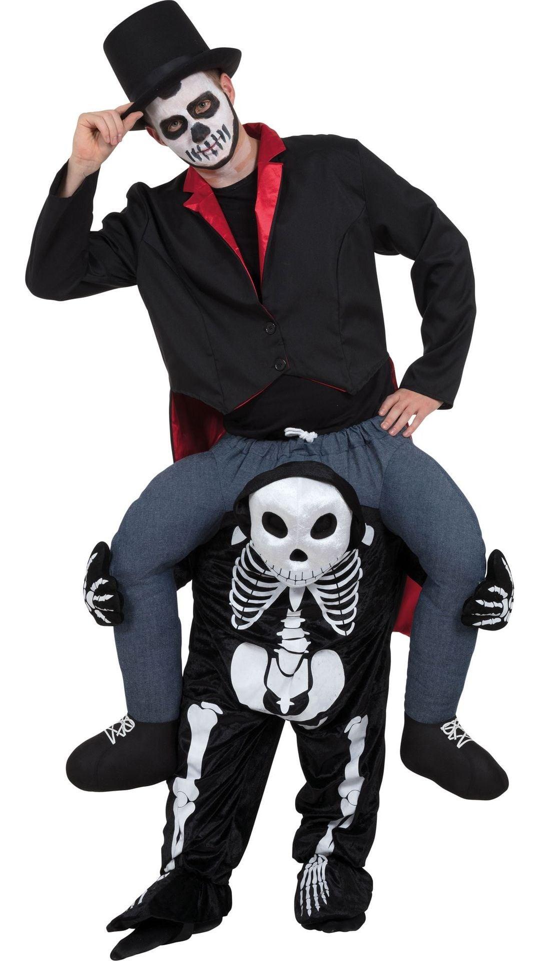 Instap skelet kostuum