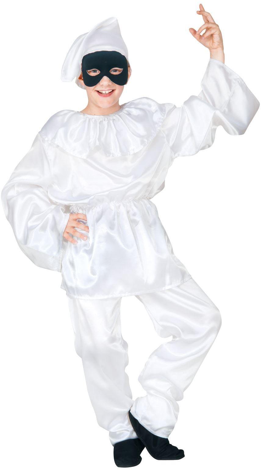 Italiaanse pulcinella kostuum