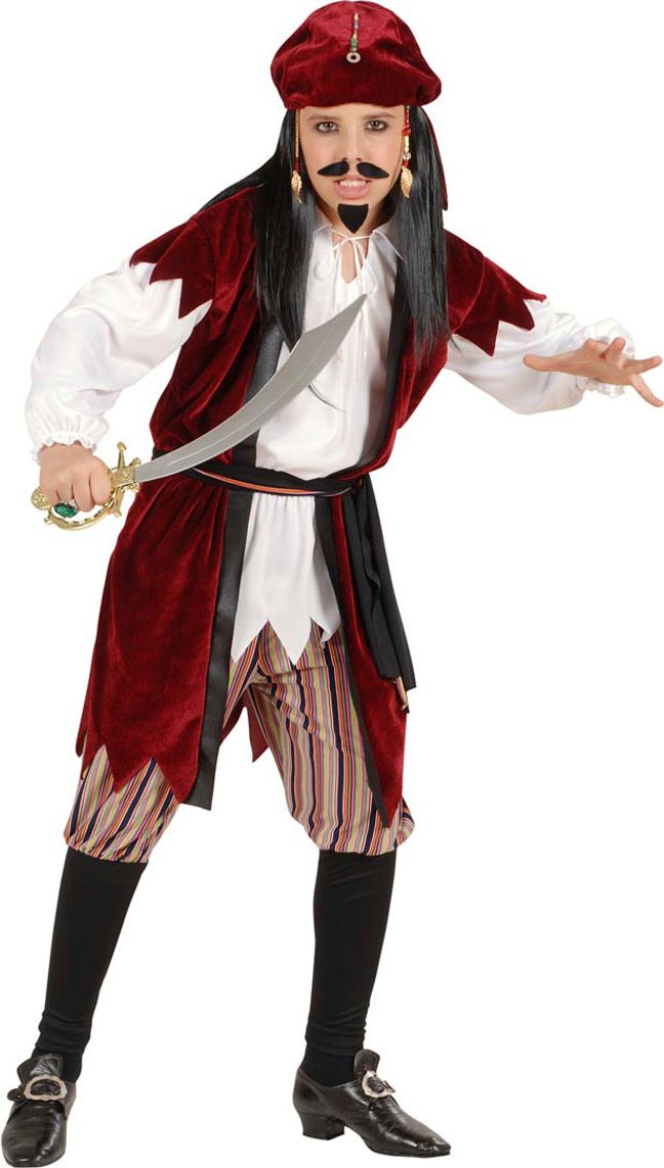 Jack Sparrow jongen kostuum