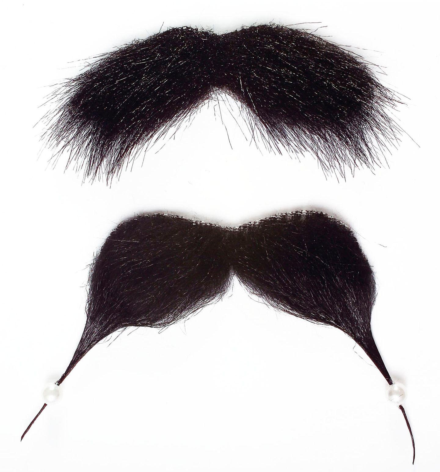 Jack Sparrow piraat snor en sik