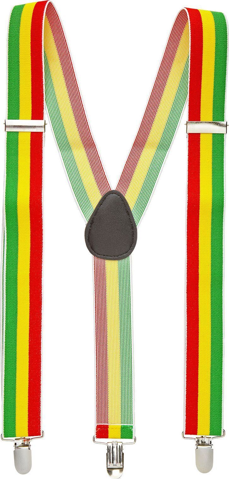 Jamaicaanse rasta bretels