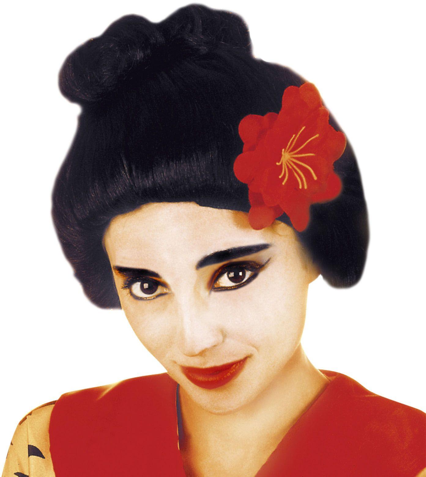 Japanse Geisha pruik