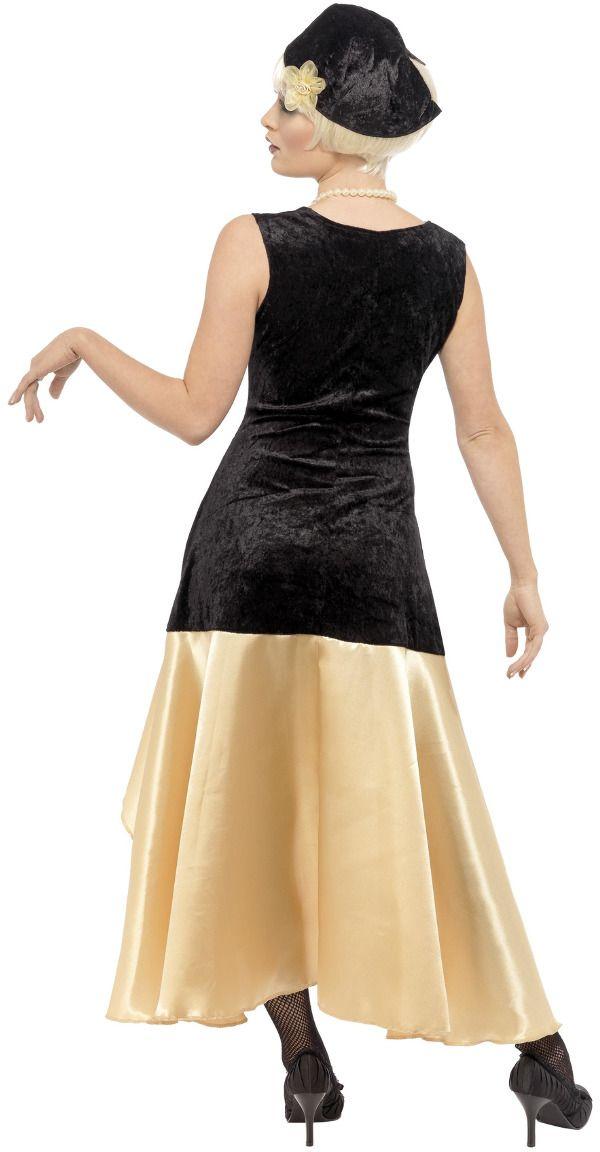 Jaren 20 Great Gatsby kostuum zwart