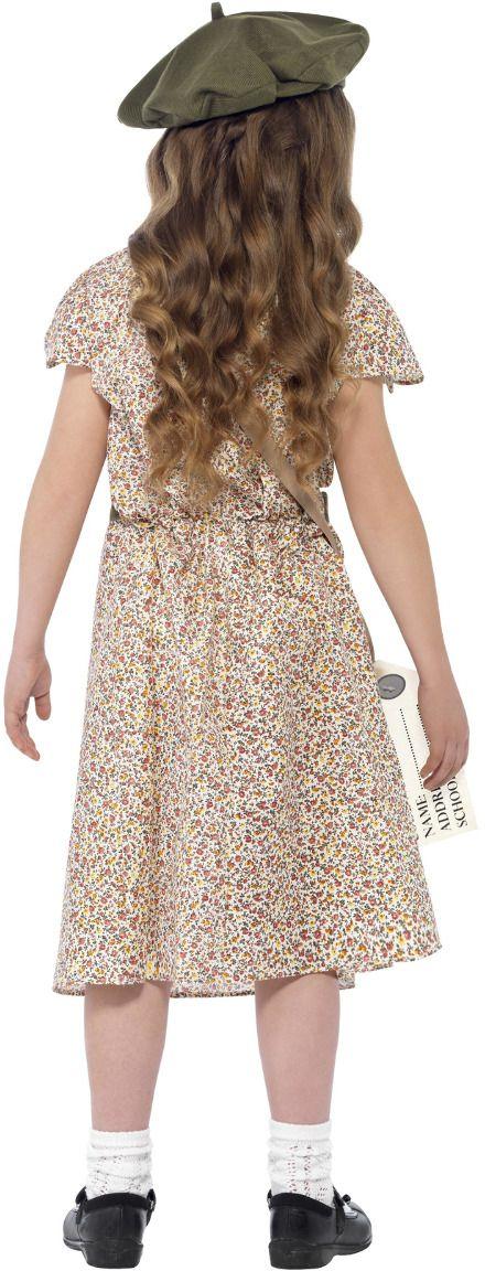 Jaren 40 meisjes jurk